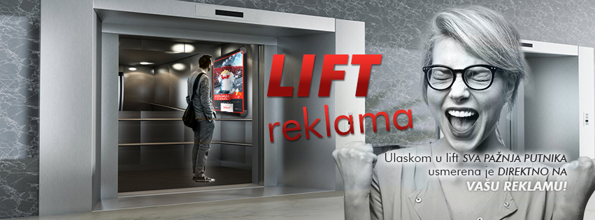 Lift reklama
