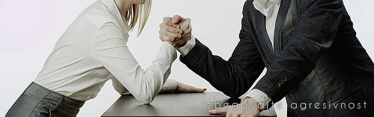Izbegavajte agresivnost
