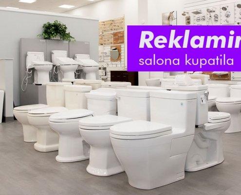 Reklamiranje salona kupatila