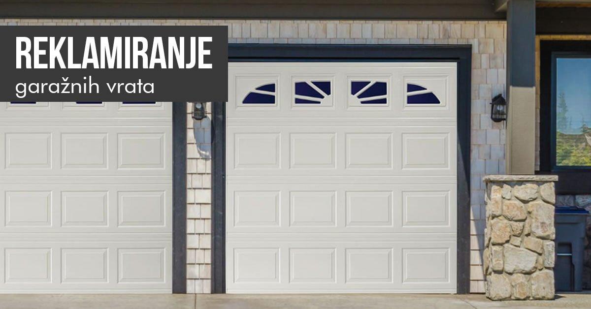 kako reklamirati garazna vrata