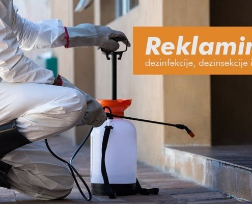 Reklamiranje dezinfekcije, dezinsekcije i deratizacije