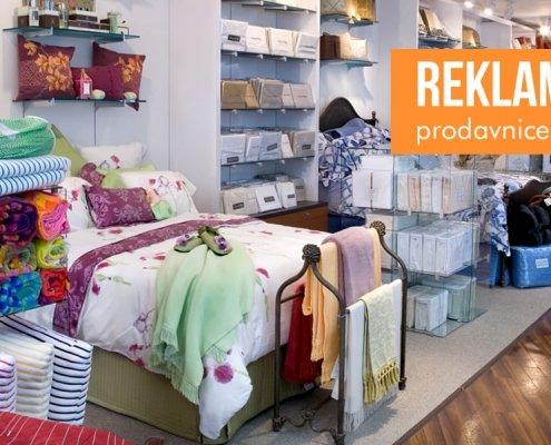 reklamiranje prodavnice posteljine