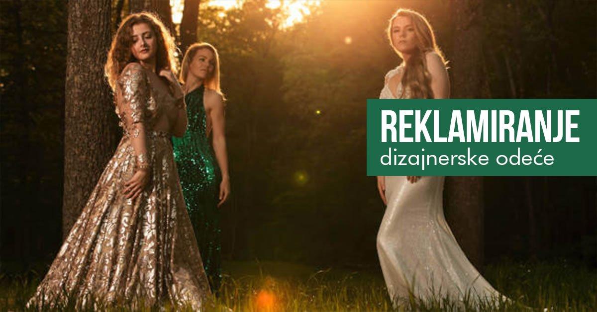 kako reklamirati dizajnersku odecu
